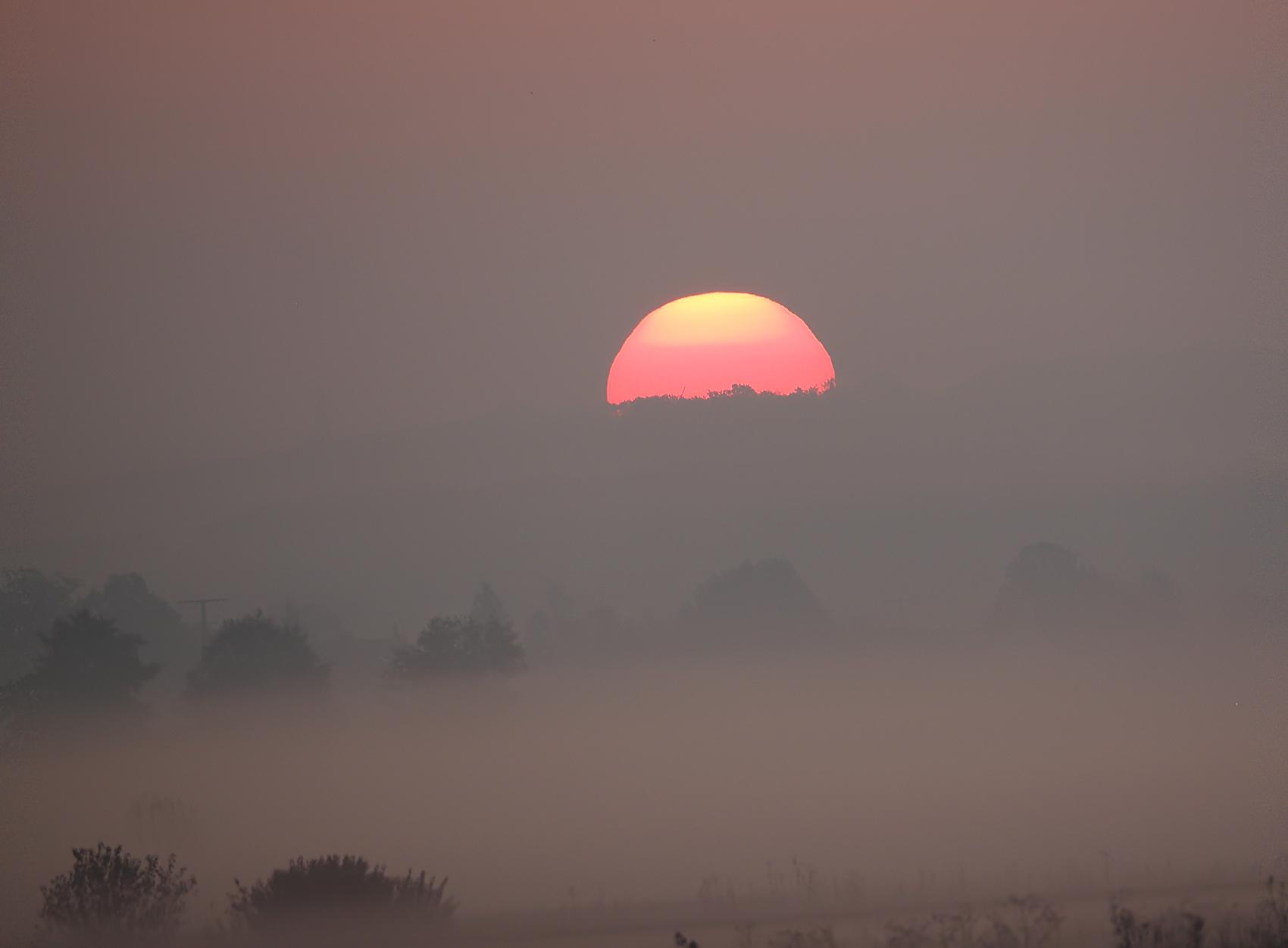 Sonnenaufgang über der Altmühl03
